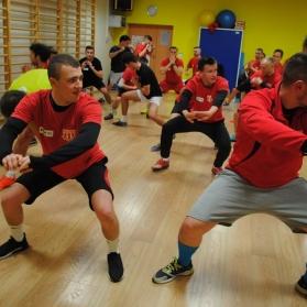 Trening fitness z Patrycją Bohdanowicz