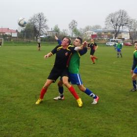 SENIORZY: Zawisza Garbów 1-4 GKS Niedźwiada (XVI kolejka 19.04.2014)