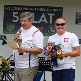 Turniej Oldbojów - 50-lecie Cicha Woda Tyniec Legnicki