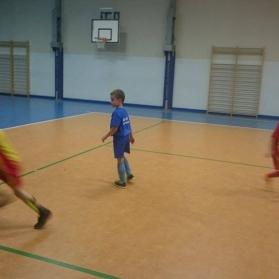 sparing z Akademią Mały piłkarz