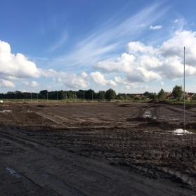 Budowa stadionu - październik 2016