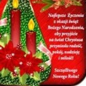 24.12.2017 r  Wesołych Świąt Bożego Narodzenia i Szczęśliwego Nowego Roku 2018
