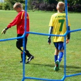 MŁODZICY: Powiślak Końskowola 2-2 Zawisza Garbów (sparing nr#2 16.08.2014)