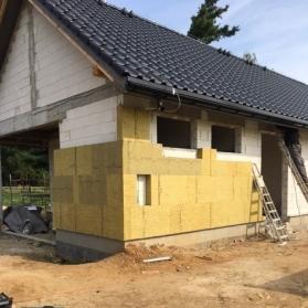 Budowa budynku klubowego - wrzesień 2017