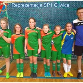 Mistrzostwa Gliwic SP dziewcząt