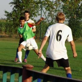 Juniorzy starsi: Orzeł Służewo - Orlęta, 17-08-15 r.