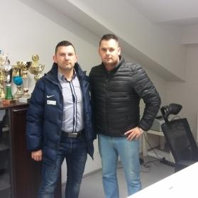 Staż trenerski Patryka Pindla