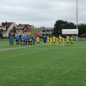 Mecz sparingowy z MUKS III Bydgoszcz