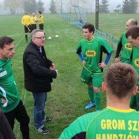 Grom SZiK Handzlówka - Start Borek Stary 10.04.2016