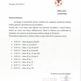 Oficjalny komunikat DZPN