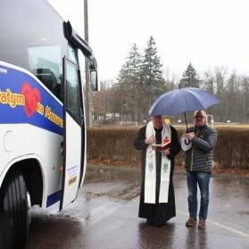 Święcenie autobusu Mazura Gostynin - 18.03.2017 r.
