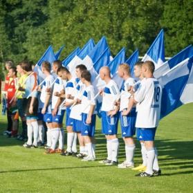 50-lecie klubu, MKS Sokół Sieniawa - CWKS Legia Warszawa Champions - by Sowart