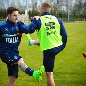 Reprezentacja Włoch U-21 w Stróżewie