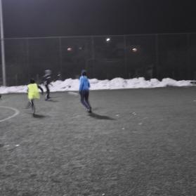 Piłkarze się zimy nie boją
