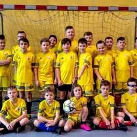 Mecz szkoleniowy młodzików i orlików w Zabierzowie - 2-4 luty 2018 r.