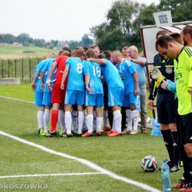 """Victoria Pakoszówka 1-1 LKS Haczów (Zdjęcia ze strony """"Klub Sportowy Victoria Pakoszówka"""" na FB)"""