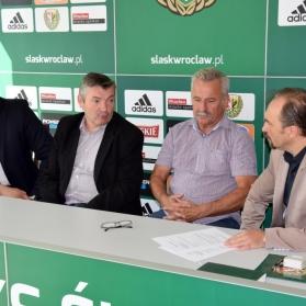 Podpisanie Umowy o współpracy pomiędzy WKS Śląsk,a KS Żórawina