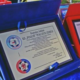 Oficjalna część obchodów 70-lecia Klubu Sportowego Pogoń Połczyn-Zdrój