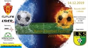 BALON FOOTBALL FESTIVAL 2007 i 2009 - ZAPISZ DRUŻYNĘ