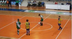 Turniejowe granie młodzieży Olimpii.