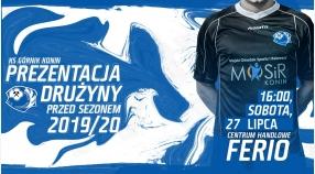 Prezentacja drużyny przed sezonem 2019/2020!