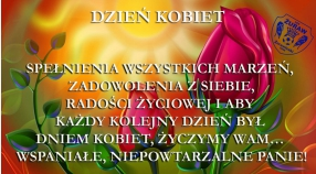 Życzenia z okazji Dnia Kobiet !