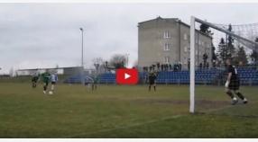 Wideo | Bramka Wojciecha Bajora z rzutu karnego