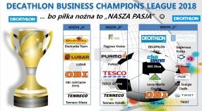 """Podział koszyków """"DECATHLON Business Champions League 2018"""""""