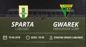 "Juniorzy Starsi LKS ""Sparta"" Lubliniec vsTS Gwarek Tarnowskie Góry"