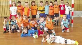 Najmłodsi piłkarze gościli UKS Grom Tychy