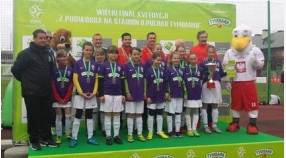 Puchar Tymbarku 2016: Tęcza trzecia w kat. U-12