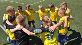 Orlik E1 - mecz mistrzowski z  LPFA Luboń (powołania)