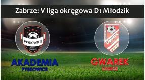 V LM D1 I KF Akademia Pyskowice - SKS GWAREK ZABRZE 2:1 (0:0)