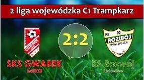 II LTrC1 I SKS GWAREK ZABRZE – KS Rozwój Katowice 2:2