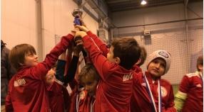 2 miejsce młodszych Orłów w Kids Soccer League