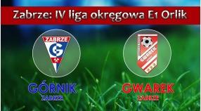 E1 ORLIK I Górnik II Zabrze - SKS GWAREK ZABRZE 6:1