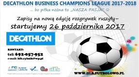 """DECATHLON Business Champions League 2017-2018""... już wkrótce startujemy :-)"