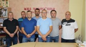 """""""Nowy - Stary"""" Zarząd Klubu MKS Olimpia Koło"""