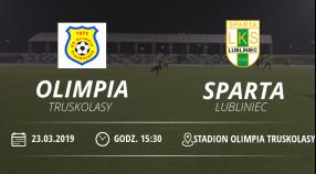 "Olimia Truskolasy vs LKS ""Sparta"" Lubliniec"