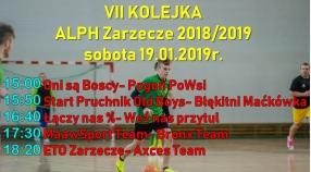 VII Kolejka- sobota 19.01.2019r.