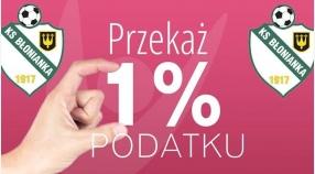 Przekaż 1% podatku na Błoniankę Błonie.