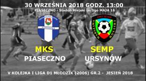 Powołania na V-tą kolejkę I ligi MZPN (jesień 2018)