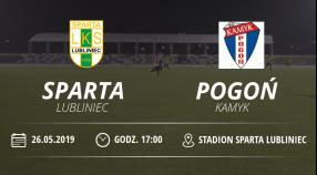 "LKS ""Sparta"" Lubliniec vs Pogoń Kamyk"