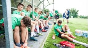 U17: Wysokie zwycięstwo juniorów młodszych w Kłaju
