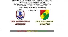 10 kolejka - mecz w Janowcu