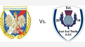 Zapowiedź sparingu Polonia vs. EastEnd Thistle