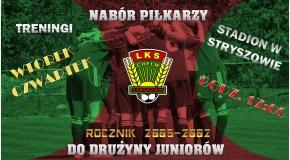 NABÓR PIŁKARZY Z ROCZNIKA 2002-2005!!!