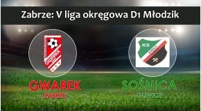 V LMD1 I SKS GWAREK ZABRZE – KS Sośnica Gliwice 0:1