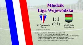 Pomorzanin Toruń - MLKS Unia Gniewkowo 1:1 (0:1)