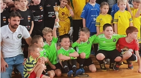 Zwycięski turniej drużyny Żaków LKS JAWISZOWICE w Rajsku !!!